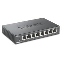 D-Link DGS-108 Switch - Zwart