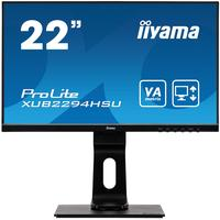 "Iiyama ProLite 22"" Full HD LED VA panel technologie - Noir"