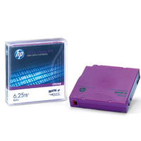 Hewlett Packard Enterprise HP LTO-6 Ultrium 6.25TB BaFe WORM Data Cartridge Datatape - Paars