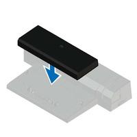 DELL Latitude E-Docking Spacer Accessoire d'ordinateur portable - Noir