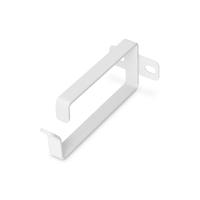 Digitus 2U cable management ring, 44x100 mm 10 pieces, color grey (RAL 7035) Kabelklem - Grijs