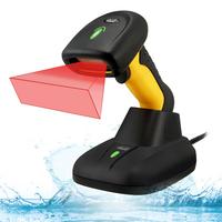 Adesso NuScan 5200TR - 2.4GHz RF Wireless Antimicrobial & Waterproof 2D Barcode Scanner Lecteur de code à .....