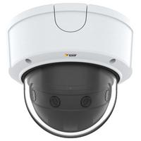 Axis P3807-PVE Caméra IP - Noir, Blanc