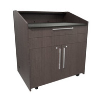"Middle Atlantic Products L5 Series Preconfigured Lectern, 43"" W x 31"" D x 39"" H, Asian Night - ....."