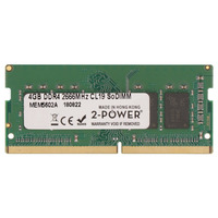 2-Power 4GB DDR4 2666MHz CL19 SoDIMM Memory Mémoire RAM