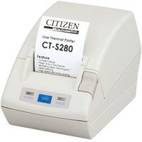 Citizen CT-S280 Imprimante point de vent et mobile - Blanc