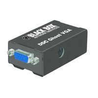 Black Box Émulateur EDID DDC VGA Adaptateur de câble - Noir