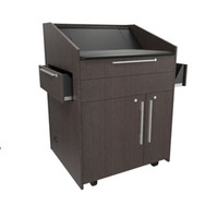 """Middle Atlantic Products L5 Series Preconfigured Lectern, 33"""" W x 31"""" D x 39"""" H, Asian Night, 2 ....."""