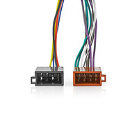 Nedis Kenwood 16-Pin ISO Cable | Radio connector - 2x Car connector | 0.15 m | Multi-Colour