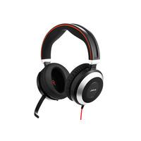 Jabra Evolve 80 UC Stereo Headset - Zwart