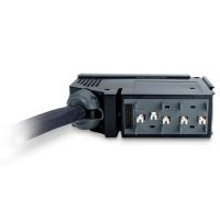 APC IT Power Distribution Module 3x1 Pole 3 Wire 16A 3xIEC309 300cm, 360cm, 420cm Energiedistributie - Zwart, Grijs