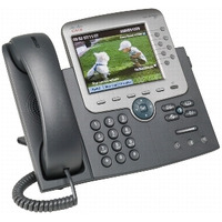 Cisco Unified IP Phone 7975G DECT-telefoon - Zwart, Zilver
