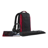 Acer NP.KBD1A.01S+NP.BAG11.00V+NP.HDS1A.008+NP.MSP11.00D+NP.MCE11.00G Toetsenbord - Zwart
