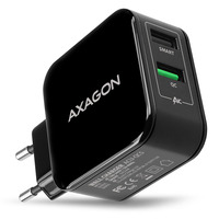 Axagon ACU-QC5 QC3.0 + 2.6A wall charger, 31 W Chargeur - Noir
