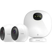 D-Link DCS-2802KT Video toezicht kits - Zwart,Wit