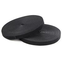 StarTech.com Klittenband 30 m rol zwart Kabelbinder