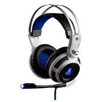 The G-Lab KORP200 Headset - Zwart, Wit
