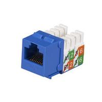 Black Box Prise CAT5e GigaBase2 - Bleu