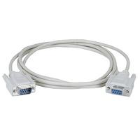 Black Box 7.6m DB9 Seriële kabel - Wit
