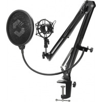 Speed-Link 775g, Pop-filter 150×148mm, Shock-mount 95×80mm - Noir