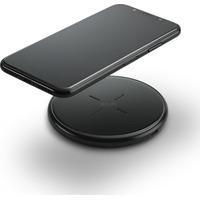 Azuri Qi wireless (inductive) desk charger - 2amp- zwart Oplader
