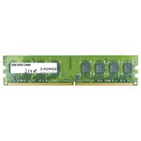 2-Power MEM1202A Mémoire RAM - Vert