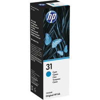 HP 31 70-ml Cyan Original Ink Bottle