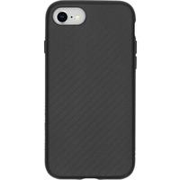 SolidSuit Backcover iPhone SE (2020) / 8 / 7 - Carbon Fiber Black