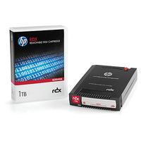 Hewlett Packard Enterprise RDX verwisselbare schijfcartridge 1TB Datatape - Zwart
