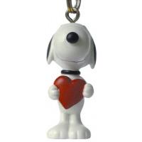 J-Straps Peanuts - Snoopy Heart Telefoonhanger - Rood, Wit