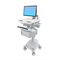 Ergotron StyleView Multimedia karren & stands - Wit