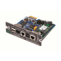APC AP9635 Network Management Card 2 w/ Environmental Monitoring, Out of Band Access and Modbus