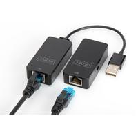 Digitus Rallonge USB, USB 2.0 Console à rallonger - Noir