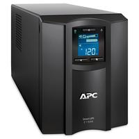 APC 1.5 kVA, 900W, 170-300V, 50/60Hz, 459J, 171x439x219mm, 24.09kg, Black Onduleur - Noir