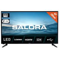 """Salora 210 series 40"""" (101CM) FUll HD led tv met DVB-S2/T/T2/C en usb mediaspeler Led-tv - Zwart"""