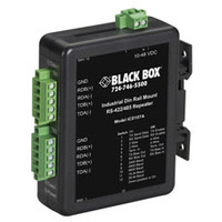 Black Box Industrial DIN Rail Converter, Repeaters and Fibre Driver Seriële coverters/repeaters/isolatoren - .....