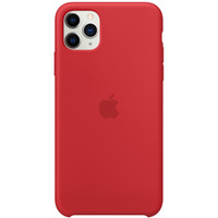 Apple Siliconenhoesje voor iPhone 11 Pro Max - (PRODUCT)RED - Rood