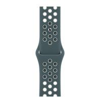Apple Bracelet Sport Nike Hasta/Argent clair 40 mm - Regular - Vert,Argent