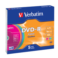 Verbatim DVD-R Colour DVD vierge