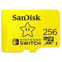 Sandisk SDSQXAO-256G-GNCZN Mémoire flash - Jaune