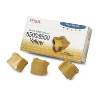 Xerox Encre solide authentique 8500/8550 jaune (3 bâtonnets) Bâton d'encre