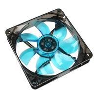Cooltek Silent Fan 120 Blue LED - 1,200 rpm Cooling - Zwart, Blauw