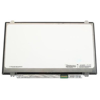 """CoreParts 14"""" LCD FHD Matte 1920x1080 LED Screen, 30pins Bottom Right Connector, Top Bottom 4xBrackets - Wit"""