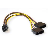 ACT PCI Express voedingskabels Electriciteitssnoer