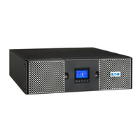 Eaton 3000VA, 3000W, C20 In, 8 x C13 & 2 x C19 Out UPS - Zwart