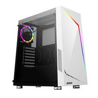 Antec NX300 Boîtier d'ordinateur - Noir, Blanc
