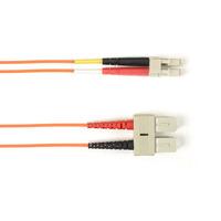 Black Box SC–LC 3m Câble de fibre optique - Orange