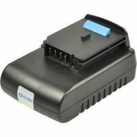 2-Power Power Tool Battery, 14.4V, 2000mAh - Noir