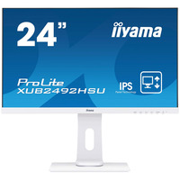 "Iiyama ProLite 24"" IPS LED, 1920 x 1080, 250 cd/m², 1000:1, 5ms, VGA, HDMI, DisplayPort, USB 2.0 hub, RMS 4W ....."