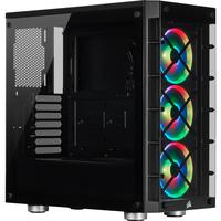 Corsair iCUE 465X RGB Boîtier d'ordinateur - Noir